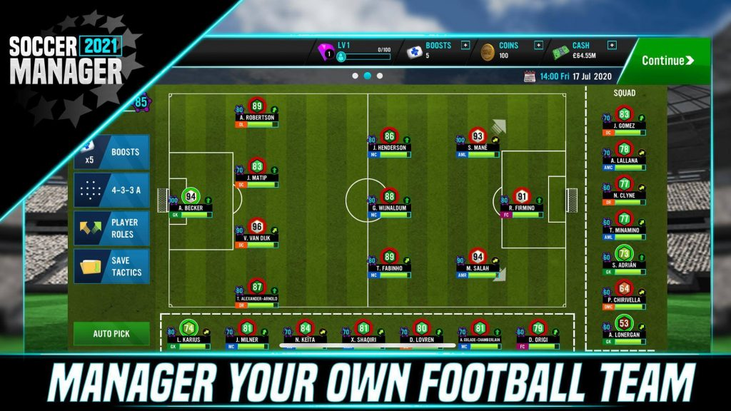 Put your management skills on test, with the launch of  flagship game SOCCER MANAGER 2021