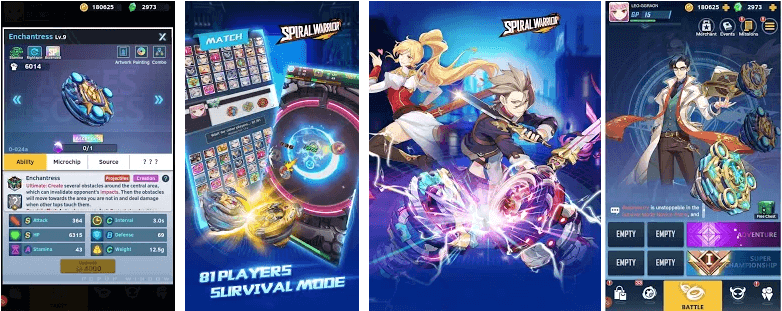 Spiral Warrior By Electronic Soul - Game Review