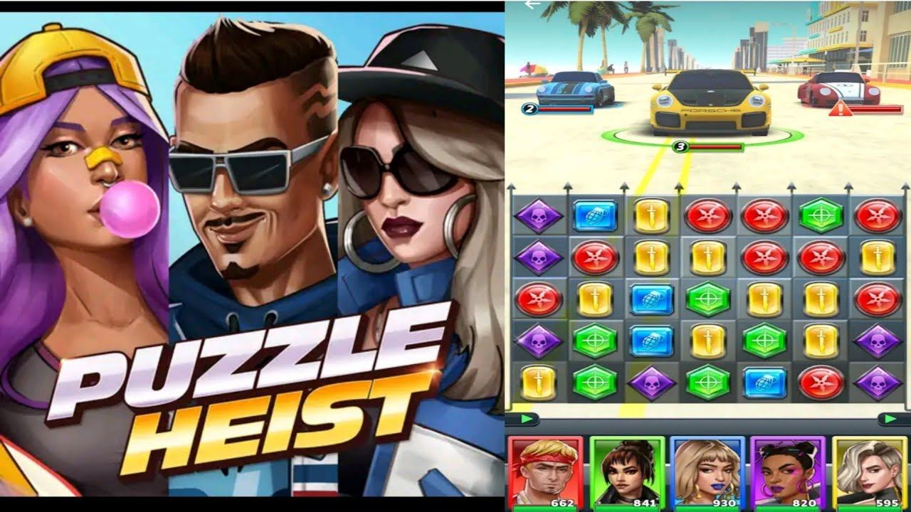 Learn How To Create Powerful Characters In Puzzle Heist