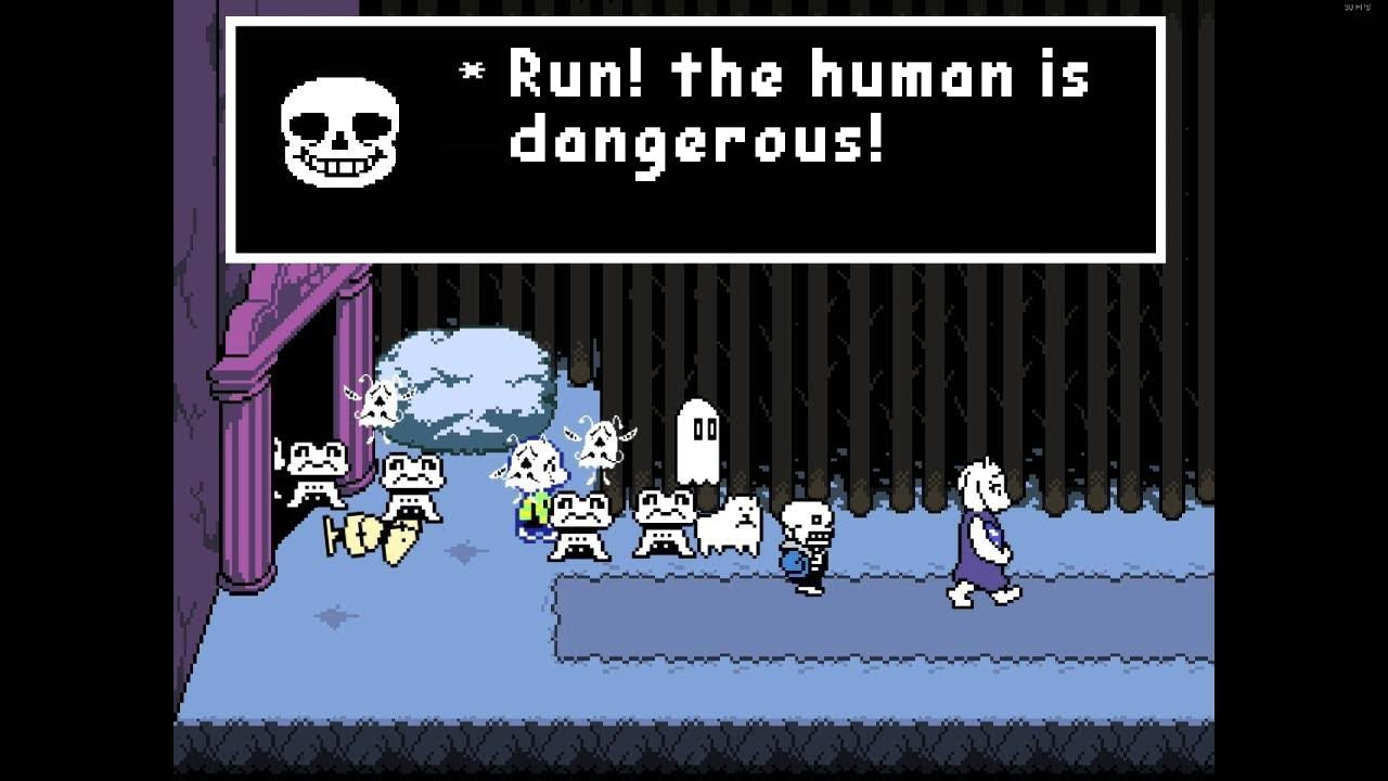 Undertale - Players Make The Choices In This Game