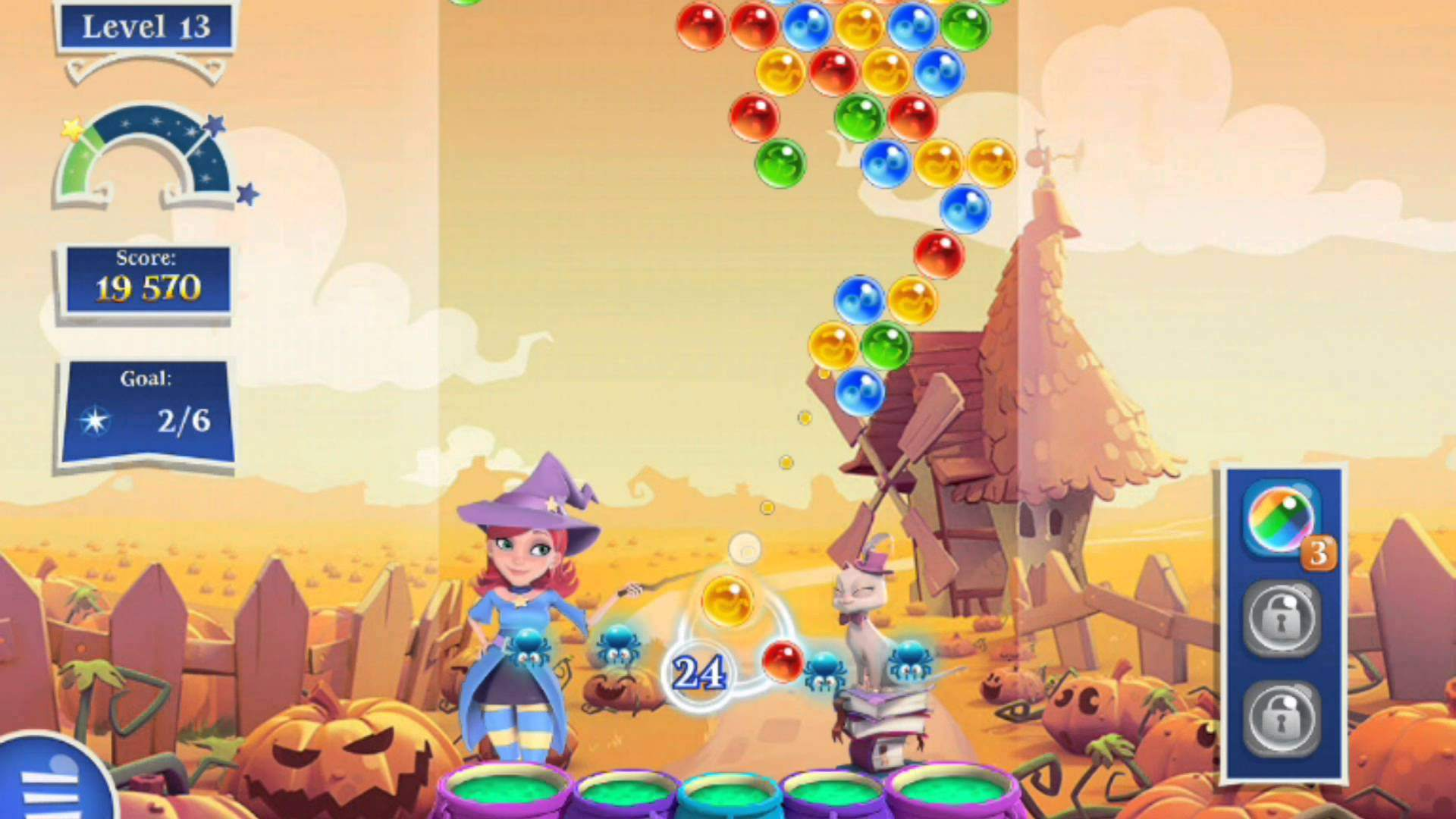How Get Gold in Bubble Witch 3 Saga