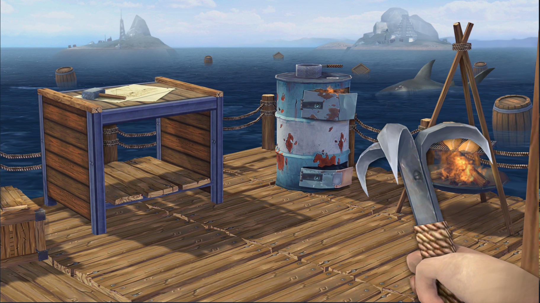 Raft Survival: Ocean Nomad - See How To Get Coins